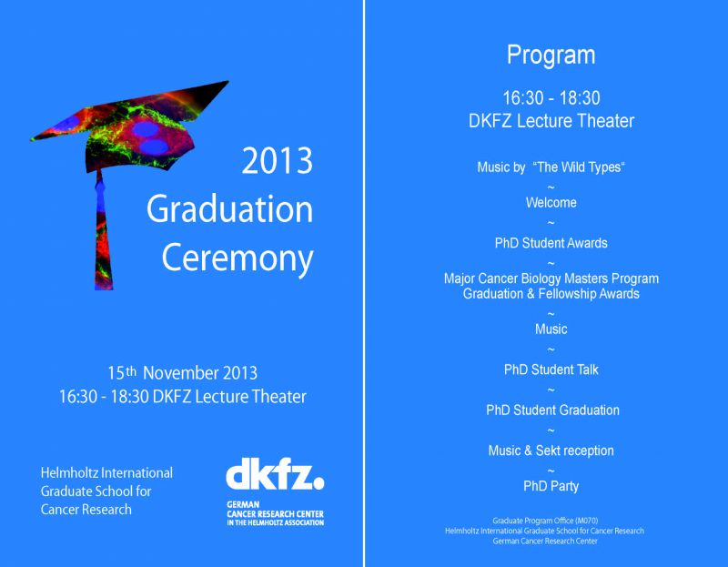 sample graduation programs
