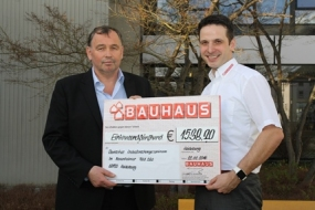 Bauhaus fundraising campaign Cancer Research