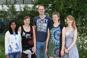 Postdoc and PhD students 2016