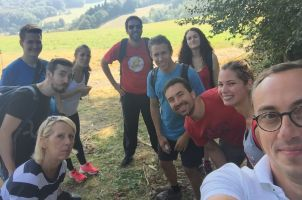 Lab Outing Hiking September 2016