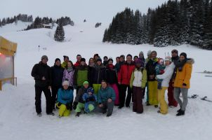Skiing excursion 2018