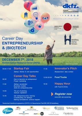 CAREER DAY Entrepreneurship & (Bio)Tech