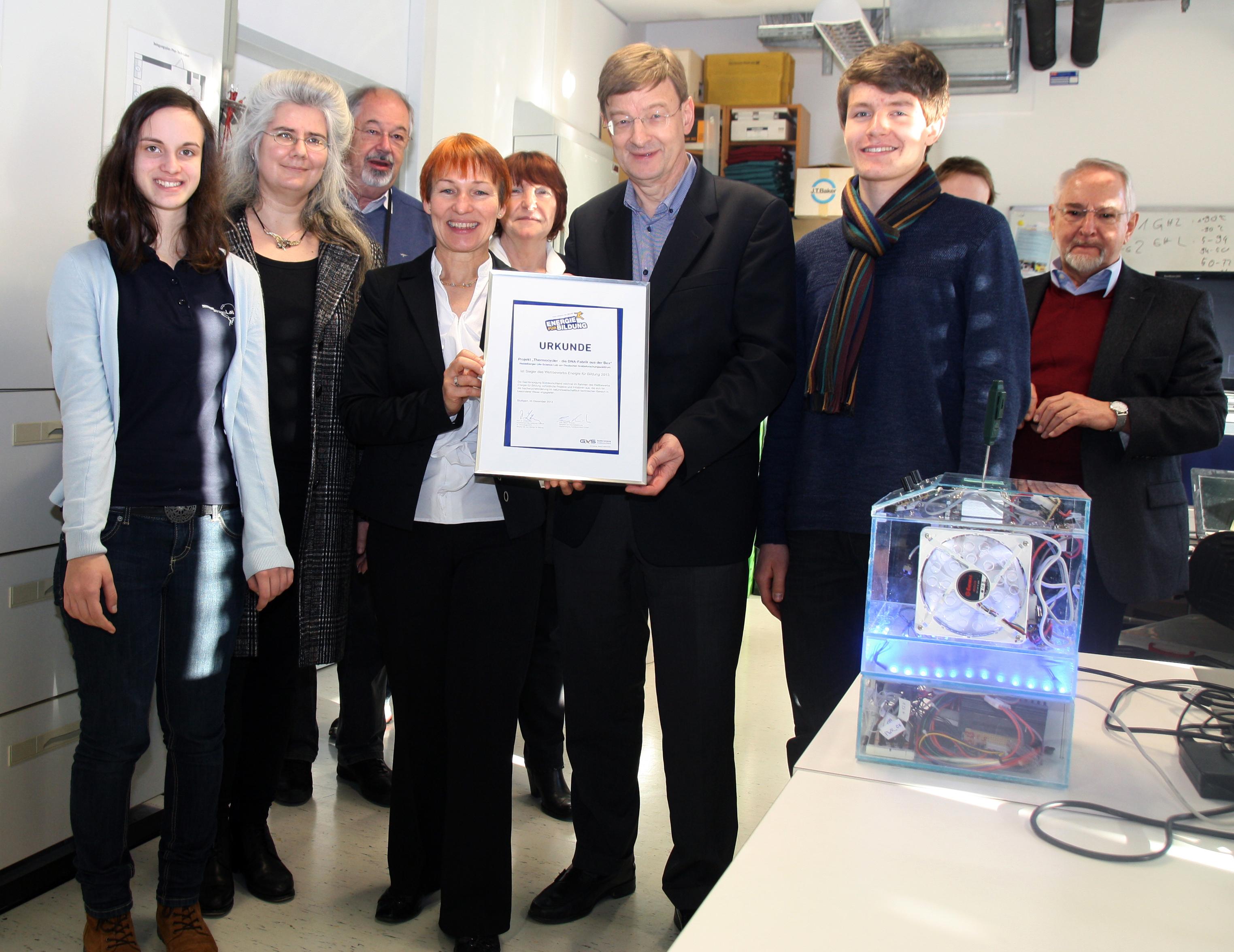 Jugendliche setzen Energie für Bildung frei: Heidelberger Life ...