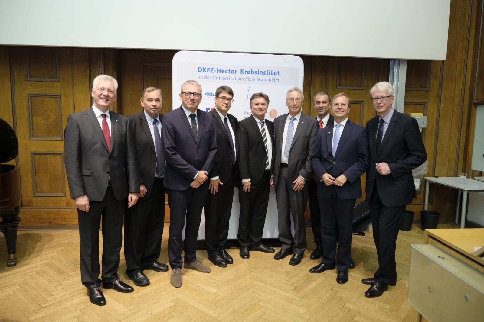 Founding ceremony of the DKFZ–Hector Cancer Institute at the