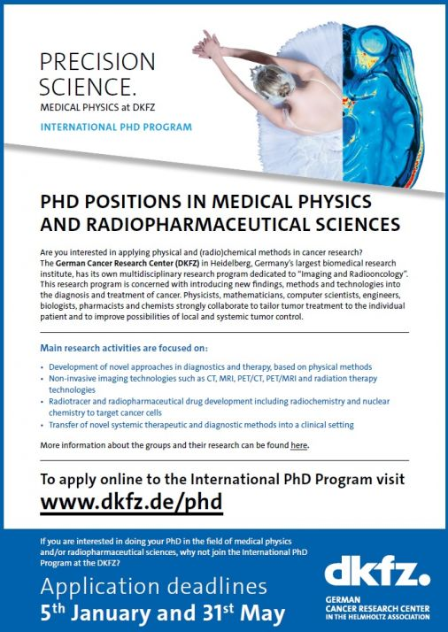 DKFZ PhD Program & Vacancies